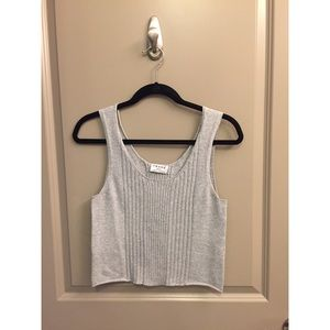 NWOT Frame Denim Cropped Tank